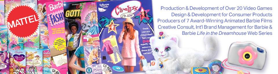 Nena Media projects for Mattel